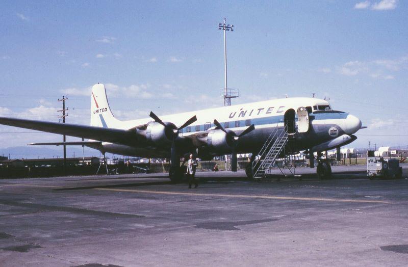 Douglas DC-6, United Airlines kazası sonrası yere indirildi