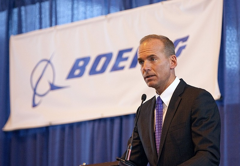 Boeing CEO'su Dennis Muilenburg