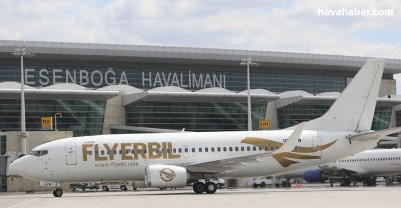 Irak Kürt Bölgesel Yönetimi'nin(IKBY) ilk havayolu şirketi Fly Erbil'in Ankara'ya doğrudan uçuşları başladı.