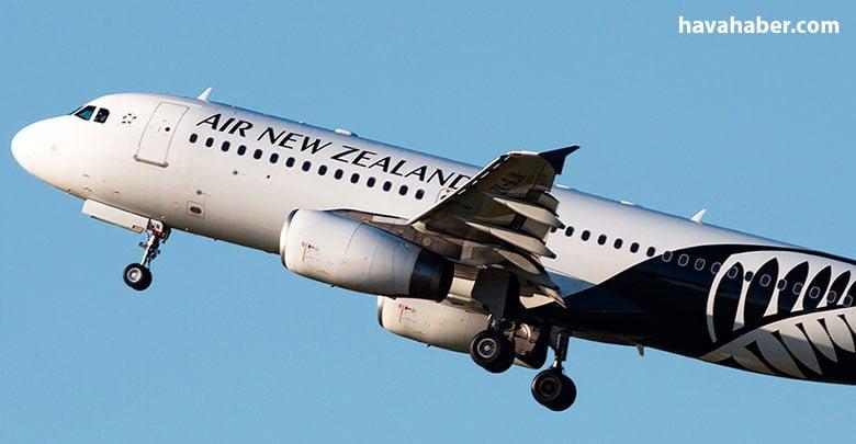 New Zealand şirketlerinde ZK-OJN tescili ile çalışan Aercap leasing şirketine ait ZK-OJN tescilli Airbus A320-232 tipi uçak