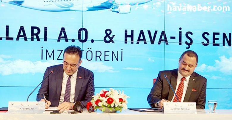 Türk Hava Yolları ile Hava İş anlaştı; 3 yıllık imza