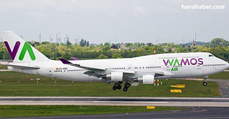 Geçen hafta XQ40 sefer sayılı uçuşla Madrid'ten Antalya'ya gelen uçak, 25 Mayıs'ta ticari seferlerine başladı.