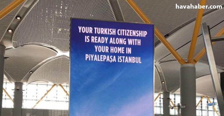 Türkiye Cumhuriyeti vatandaşlığını promosyon malzemesi yaptılar!