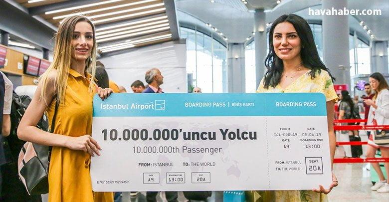 İGA 57 günde 10 milyon yolcuyu ağırladı