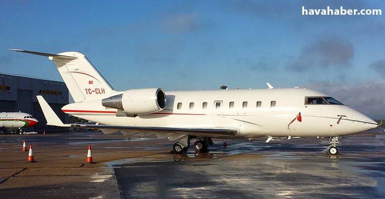 Kanadalı Bombardier imalatı olan Challenger 605