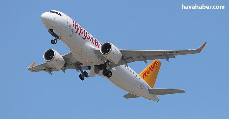 Pegasus Havayolları'na teslim edilmek üzere hazırlanan TC-NCK tescilli A320neo,teslimat için gün sayıyor