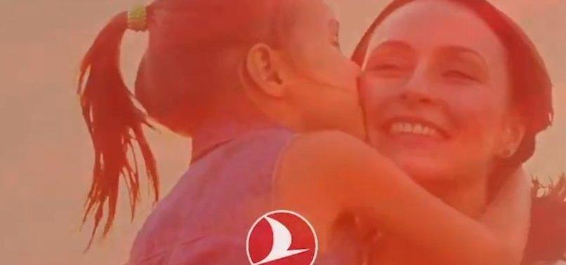 THY'den Anneler Günü'ne özel videolu paylaşımı