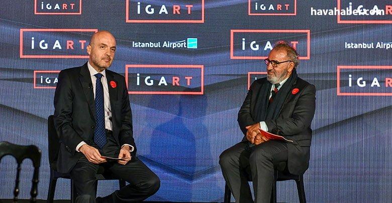 İGA Havalimanı İşletmesi CEO'su Kadri Samsunlu,